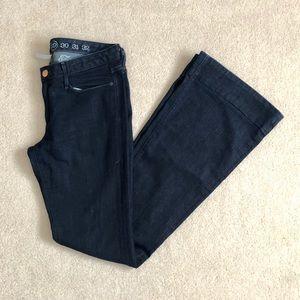 EARNEST SEWN Flare Denim Jeans